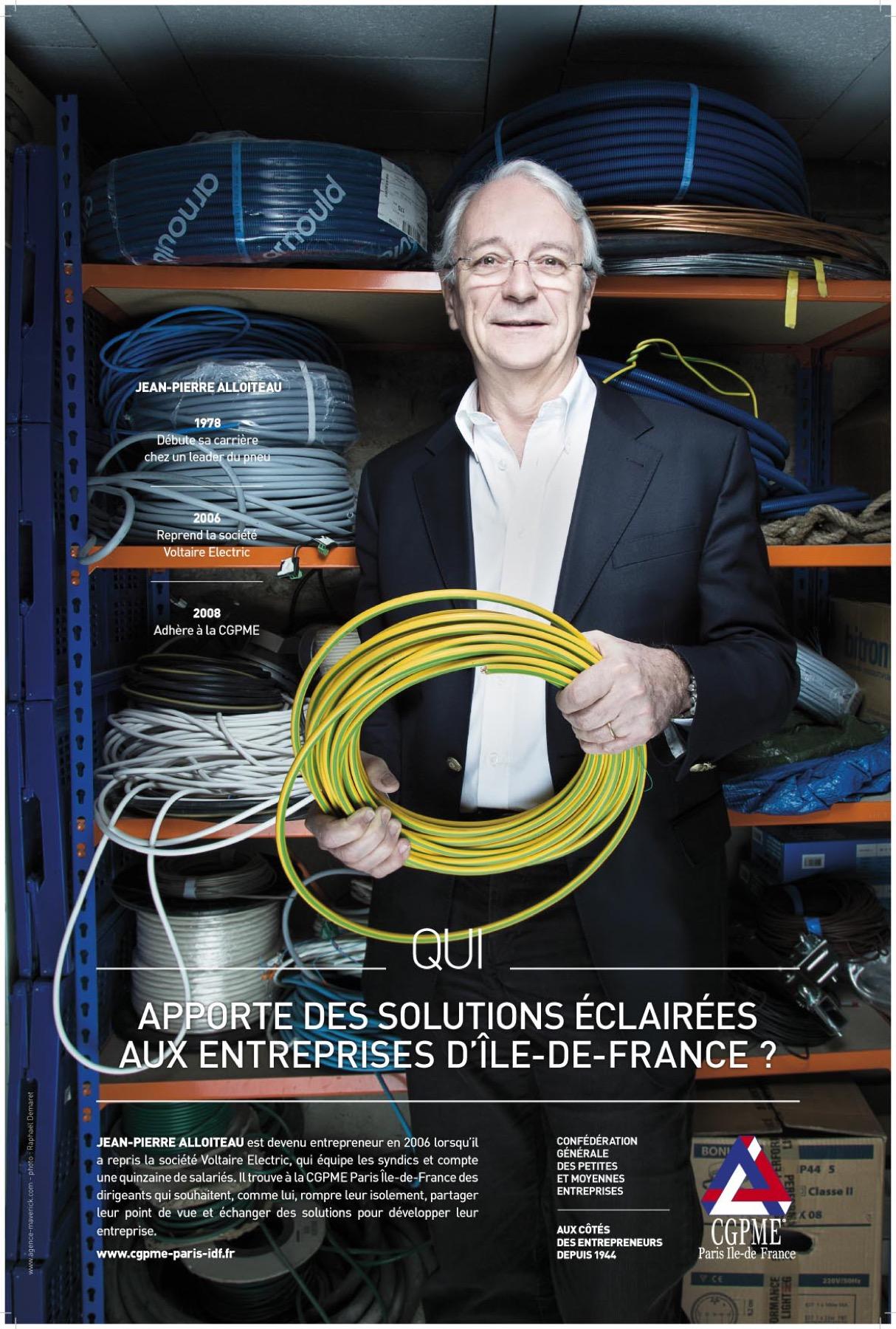 CGPME, Jean-Pierre Alloiteau