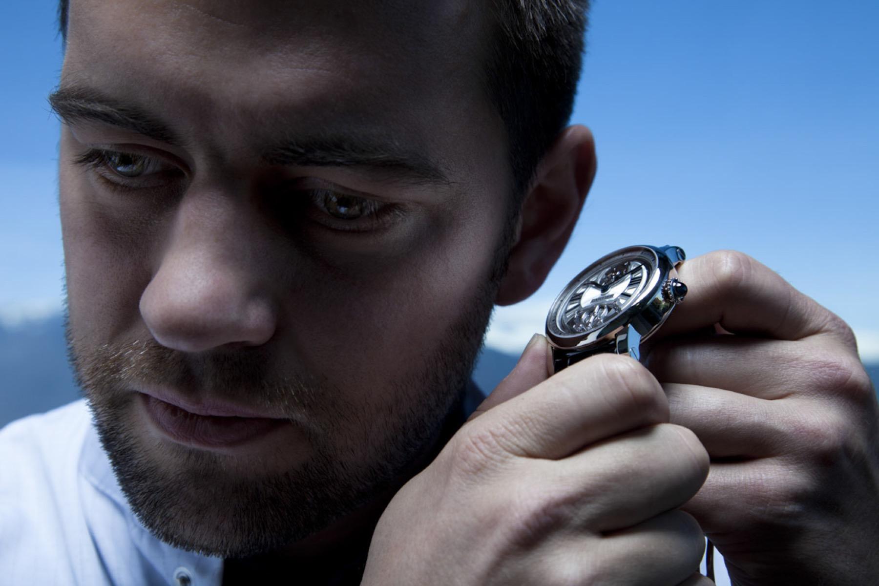 Horloger de la maison Cartier