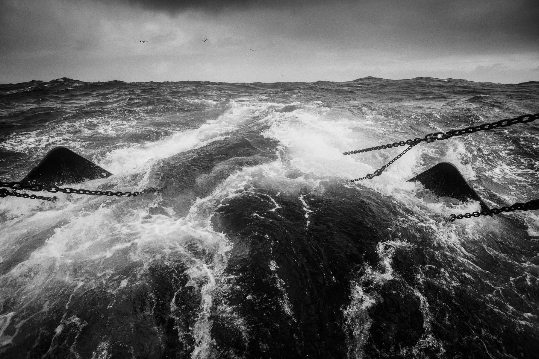 Marée à bord du chalutier Bara Zur, Atlantique Nord – Mer d'Iroise